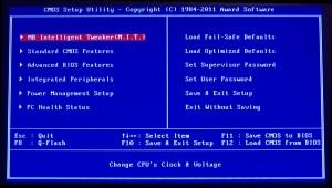 Gigabyte BIOS 1 Main