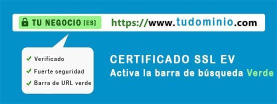 Certificado SSL EV