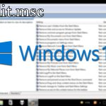 Activar gpedit.msc en Windows 10 Home de manera rápida y sencilla