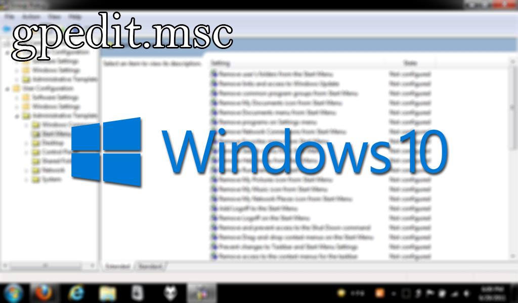 Activar gpedit msc en Windows 10 Home de manera rápida y